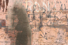 Grunge wall background. Nice and messy Royalty Free Stock Photo