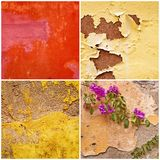 Grunge wall backgrounds Royalty Free Stock Image