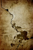 Grunge Wall Cracks Royalty Free Stock Photography