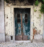 Grunge wall and door Royalty Free Stock Photography