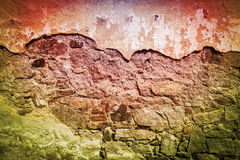 Grunge Wall. Old Dirty Wall Photo. Suitable for Graphic Backgrounds Design royalty free stock photos
