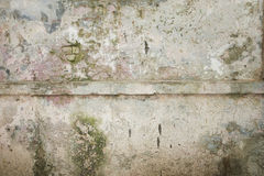 Grunge wall of the old house. Textured background Royalty Free Stock Image