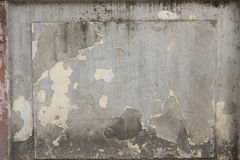 Grunge wall of the Old House. Textured Background Stock Photo