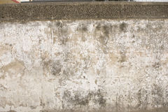 Grunge wall of the old house. Textured background Stock Images