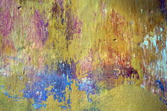 Grunge wall painting texture Royalty Free Stock Image