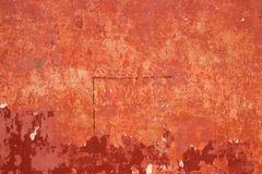 Grunge wall with peeling paint Royalty Free Stock Photo