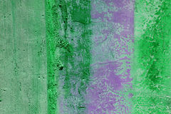 Grunge wall with peeling paint Stock Images