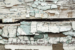 Grunge wall with peeling paint texture Royalty Free Stock Photography