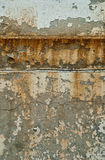 Grunge Wall Texture. A close view of a section of exterior wall from an old warehouse that has been beaten down by the weather over time Royalty Free Stock Photos