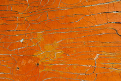 Grunge wall texture with cracked paint Stock Photography