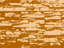 Grunge wall, vector Stock Photography