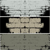 Grunge WALL  vector background Royalty Free Stock Photos