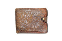 Grunge wallet Stock Images