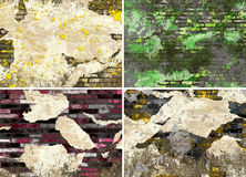 Grunge walls exterior Royalty Free Stock Photos