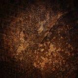 Grunge Wand mit Rasterfeld als Hintergrund Lizenzfreies Stockfoto