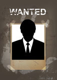 Grunge wanted poster Royalty Free Stock Photography