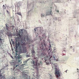 Grunge watercolor acrylic painting. Abstract brown Stock Image