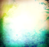 Grunge watercolor background Stock Images