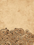 Grunge wave background for your design Royalty Free Stock Image