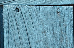 Grunge weathered blue door woodden texture Royalty Free Stock Photography