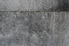 Grunge weathered concrete wall texture with header. For background Stock Images