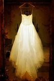 Grunge wedding dress Royalty Free Stock Image
