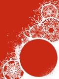 Grunge Weihnachtsdekorationen Stockbild