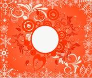 Grunge Weihnachtshintergrund Lizenzfreie Stockfotografie