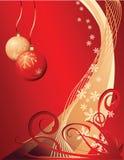 Grunge Weihnachtshintergrund Lizenzfreies Stockbild