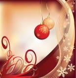 Grunge Weihnachtshintergrund Lizenzfreies Stockfoto