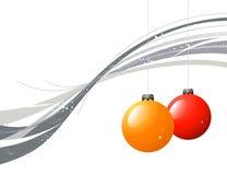Grunge Weihnachtshintergrund Lizenzfreie Stockbilder