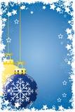 Grunge Weihnachtskugeln Stockbilder