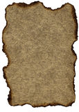 Grunge Weinlese-Papier: Gebrannter Brown Lizenzfreies Stockbild