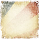 Grunge Weinlese-Papierhintergrund. lizenzfreie abbildung