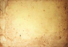 Grunge Weinlesealter Papierhintergrund Stockbild