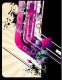 grunge wektor ilustracyjny nowożytny ilustracji