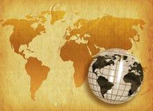 Grunge Welt Stockbilder