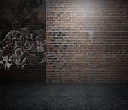 grunge wewnętrznego projekta tło dla pracownianych fotografów z Obraz Royalty Free