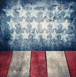Grunge wewnętrzny zmrok - błękit ściana Zdjęcie Royalty Free
