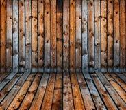 grunge wewnętrzny stary deski rocznik drewniany Zdjęcia Royalty Free
