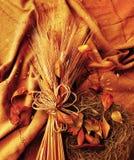 Grunge wheat background Stock Photo
