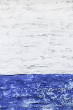 Grunge white and blue wall royalty free stock photos