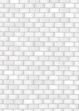 Grunge white brick wall Stock Images