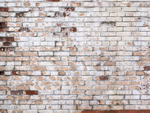 Grunge white brick wall, stone surface as a background stock photos