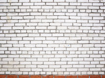 Grunge white brick wall, stone surface as a background stock photo