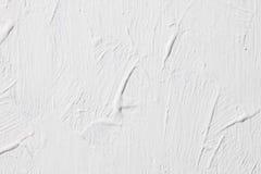Grunge White Concrete Wall Background Stock Image
