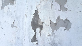 Grunge white and grey cement wall texture background. Stock Photos