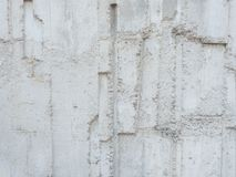 The rugged grunge old white plaster wall texture. royalty free stock photo