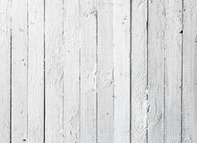 Grunge white painted wooden plank stock image