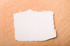 Grunge and white papers Stock Image